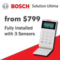 security system bosch ultima